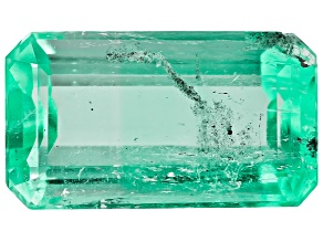 Colombian Emerald 10.8x6.2mm Emerald Cut 2.26ct