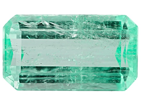 Colombian Emerald 11.6x6.5mm Emerald Cut 3.13ct