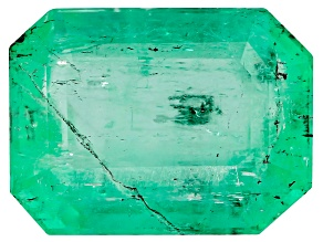 Colombian Emerald 9.5x7.1mm Emerald Cut 2.20ct