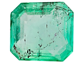 Colombian Emerald 9.2x8.7mm Emerald Cut 2.32ct