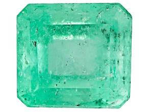 Colombian Emerald 8.1x7.4mm Emerald Cut 2.36ct