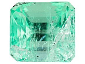 Colombian Emerald 8.1x7.5mm Emerald Cut 2.46ct