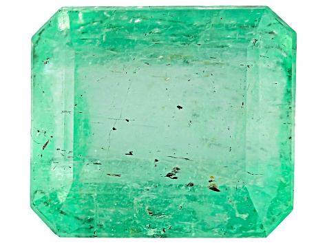 Colombian Emerald 8.7x7.6mm Emerald Cut 2.68ct