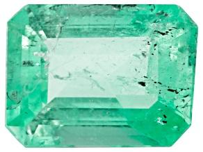 Colombian Emerald 8.7x6.5mm Emerald Cut 1.49ct