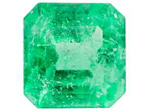 Colombian Emerald 5.7x5.5mm Emerald Cut 0.76ct