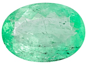 Colombian Emerald 13.3x9.5mm Oval Cut 3.58ct