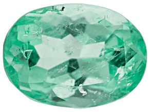 Colombian Emerald 11.8x8.7mm Oval Cut 3.90ct