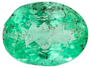 Colombian Emerald 8.8x6.6mm Oval Cut 1.66ct