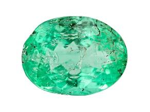 Colombian Emerald 8.8x6.6mm Oval Cut 1.66ct