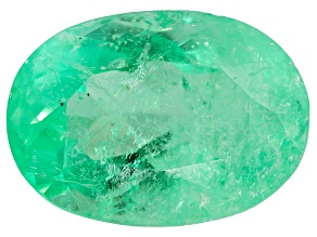Colombian Emerald 10x7.2mm Oval Cut 2.37ct