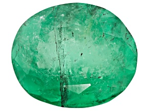Colombian Emerald 10x8.3mm Oval Cut 2.95ct
