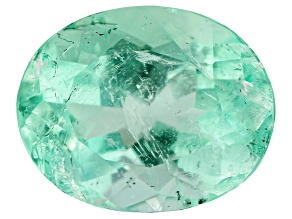 Colombian Emerald 8.3x6.6mm Oval Cut 1.45ct