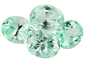 Colombian Emerald mm Varies Set Of 4 Oval 6.93ct