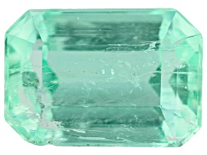 Colombian Emerald 1.00ct Minimum mm Varies Emerald Cut.  The Gemstone Was Mined And Cut in Colombia