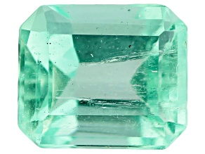 Colombian Emerald 0.75ct Minimum mm Varies Emerald Cut.  The Gemstone Was Mined And Cut in Colombia