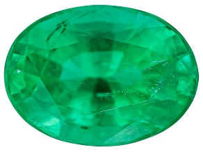 0.71ct Zambian Emerald 6.74x4.92mm Oval Mined: Zambia/Cut: india