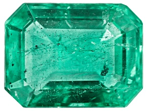 1.97ct Zambian Emerald 8.85x6.7mm Rect Oct Mined: Zambia/Cut: india