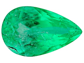 1.74ct Colombian Emerald 10.4x6.5mm Pear Mined: Colombia/Cut: Colombia