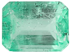 2.10ct Colombian Emerald 9.1x6.8mm Rect Oct Mined: Colombia/Cut: Colombia