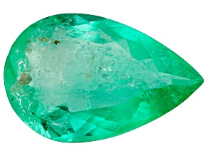 1.34ct Colombian Emerald 10.4x6.7mm Pear Mined: Colombia/Cut: Colombia