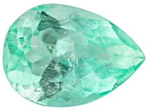 2.85ct Colombian Emerald 11x8mm Pear Mined: Colombia/Cut: Colombia