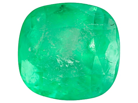 2.52ct Colombian Emerald 8.4x8mm Rect Cush Mined: Colombia/Cut: Colombia