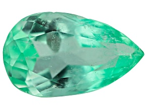 3.22ct Colombian Emerald 12.7x7.7mm Pear Mined: Colombia/Cut: Colombia