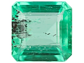 0.94ct Colombian Emerald Varies mm Rect Oct Mined: Colombia/Cut: Colombia