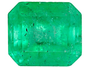 0.75ct Colombian Emerald 5.96x5.16mm Rect Oct Mined: Colombia/Cut: Colombia
