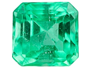 0.60ct Min Colombian Emerald 5mm Sq Oct Mined: Colombia/Cut: Colombia