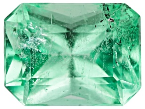 1.35ct Colombian Emerald Varies mm Rect Oct Mined: Colombia/Cut: Colombia