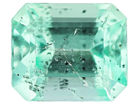 1.50ct Min Colombian Emerald Varies mm Rect Oct Mined: Colombia/Cut: Colombia