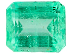 1.55ct Min Colombian Emerald Varies mm Rect Oct Mined: Colombia/Cut: Colombia