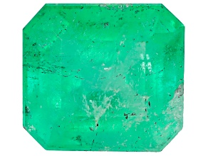 1.52ct Colombian Emerald 7.29x6.63mm Rect Oct Mined: Colombia/Cut: Colombia