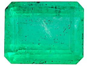 1.93ct Colombian Emerald 8.61x6.85mm Rect Oct Mined: Colombia/Cut: Colombia