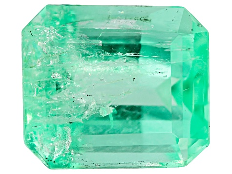 2.50ct Colombian Emerald 8.72x7.54mm Rect Oct Mined: Colombia/Cut: Colombia