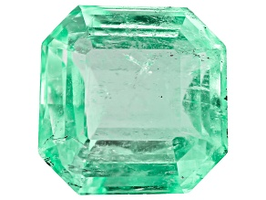 3.46ct Colombian Emerald 9.24x9.12mm Rect Oct Mined: Colombia/Cut: Colombia