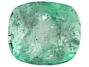 3.33ct Colombian Emerald 9.72x8.46mm Rect Cush Mined: Colombia/Cut: Colombia