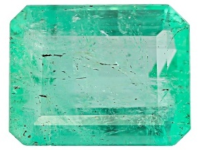 3.59ct Colombian Emerald 10.70x8.37mm Rect Oct Mined: Colombia/Cut: Colombia