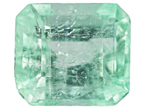 4.85ct Colombian Emerald 10.55x9.4mm Rect Oct Mined: Colombia/Cut: Colombia