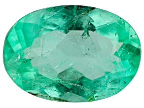 0.68ct Colombian Emerald 7.86x5.19mm Oval Mined: Colombia/Cut: Colombia