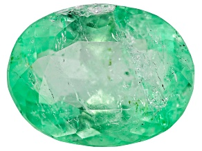 2.88ct Colombian Emerald 11x8.5mm Oval Mined: Colombia/Cut: Colombia