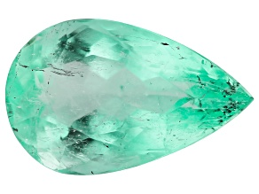 1.94ct Colombian Emerald 10.77x6.77mm Pear Mined: Colombia/Cut: Colombia