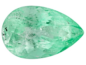 1.74ct Colombian Emerald 10.3x6.5mm Pear Mined: Colombia/Cut: Colombia