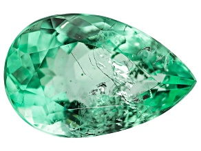 1.94ct Colombian Emerald 10.5x6.7mm Pear Mined: Colombia/Cut: Colombia