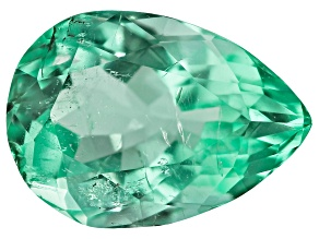 2.25ct Colombian Emerald 10.45x7.46mm Pear Mined: Colombia/Cut: Colombia