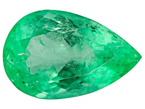 2.30ct Colombian Emerald 11.3x7.3mm Pear Mined: Colombia/Cut: Colombia