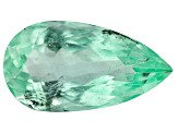 2.60ct Colombian Emerald 13x7mm Pear Mined: Colombia/Cut: Colombia