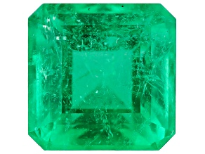 0.60ct Min Colombian Emerald Varies mm Sq Oct Mined: Colombia/Cut: Colombia
