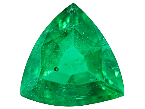 Zambian Emerald 1.56ct 8.5mm Trillion Mined: Zambia/Cut: india